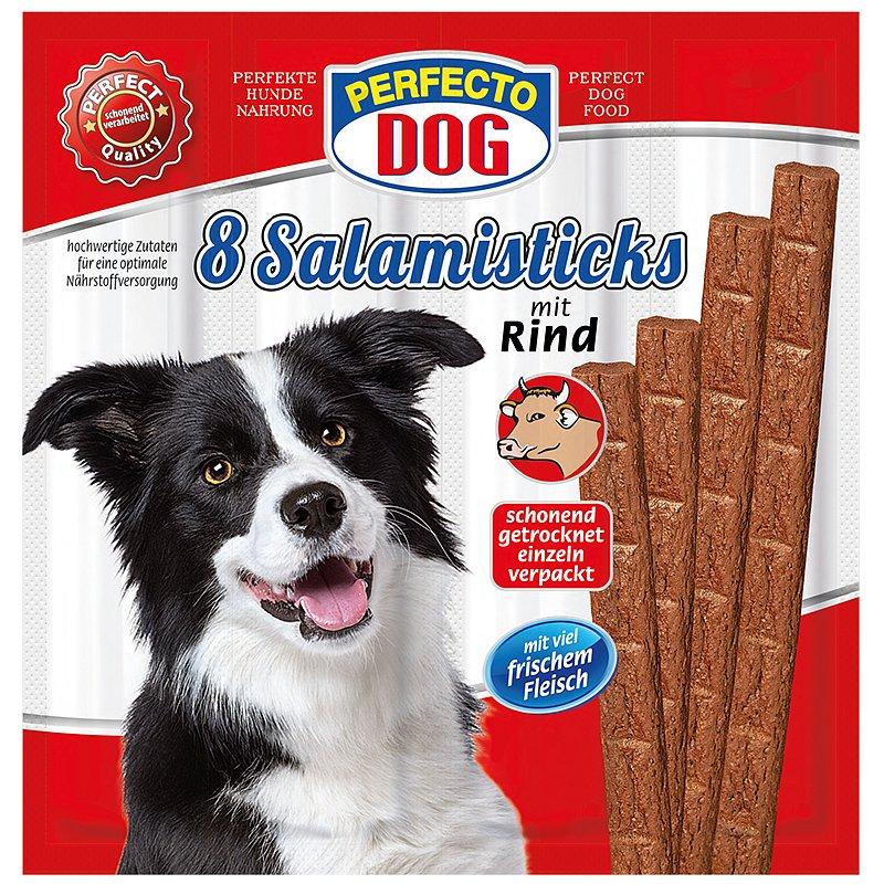 Perfecto Dog salámek s hovězím 8ks