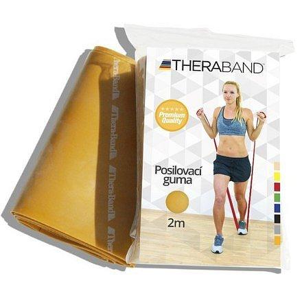 Thera-Band Posilovací guma zlatá