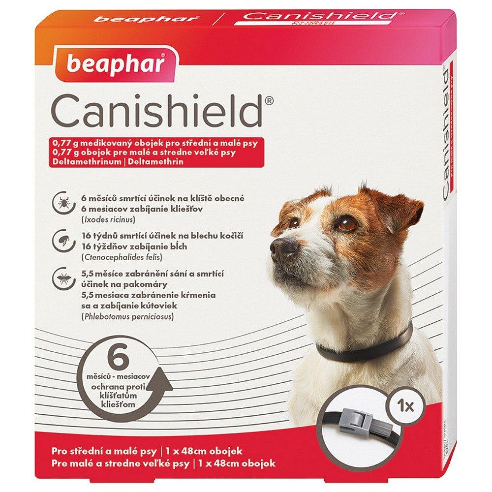 BEAPHAR Canishield®  Antiparazitní obojek pro malé a střední psy 48 cm