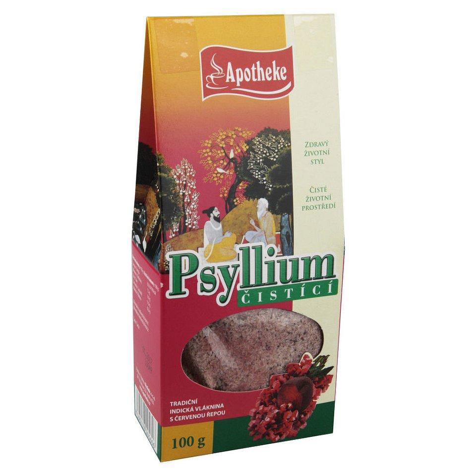 Apotheke Psyllium čisticí s červenou řepou 100g - II.jakost