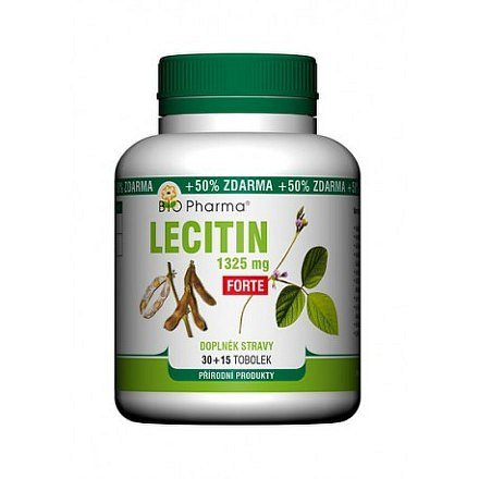 Lecitin Forte 1325mg 30+15 Bio-Pharma