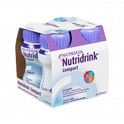 Nutridrink Compact neutral 4x125 ml