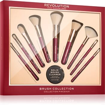 Makeup Revolution Brush Collection sada štětců 10 ks