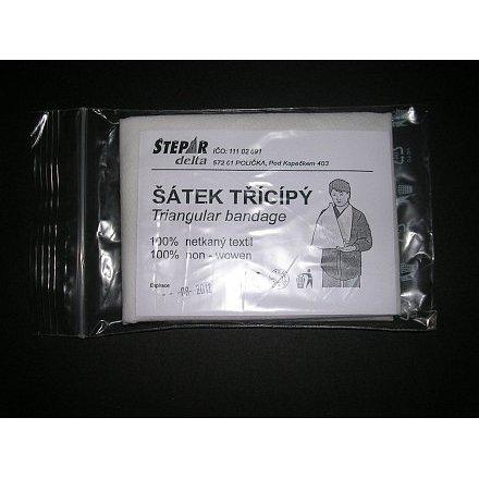 Šátek trojcípý - velikost 960x1360x960mm netkaný