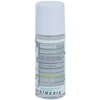 Korres Equisetum deodorant roll-on bez parfemace 48h 30 ml