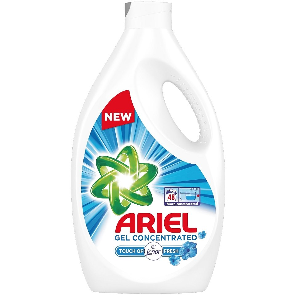 ARIEL Touch of Lenor 2,64 L (48 praní) – Prací gel
