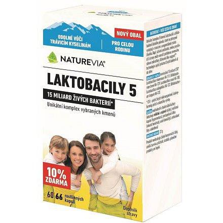 Swiss NatureVia LAKTOBACILY 5 cps.66