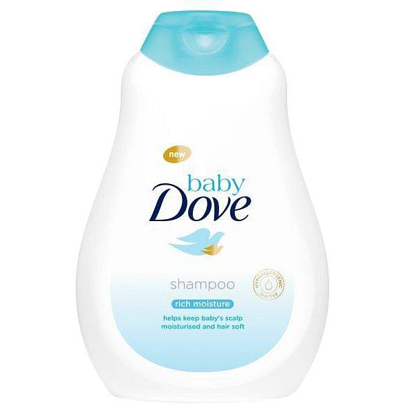 BABY DOVE Dětský šampon, 400 ml