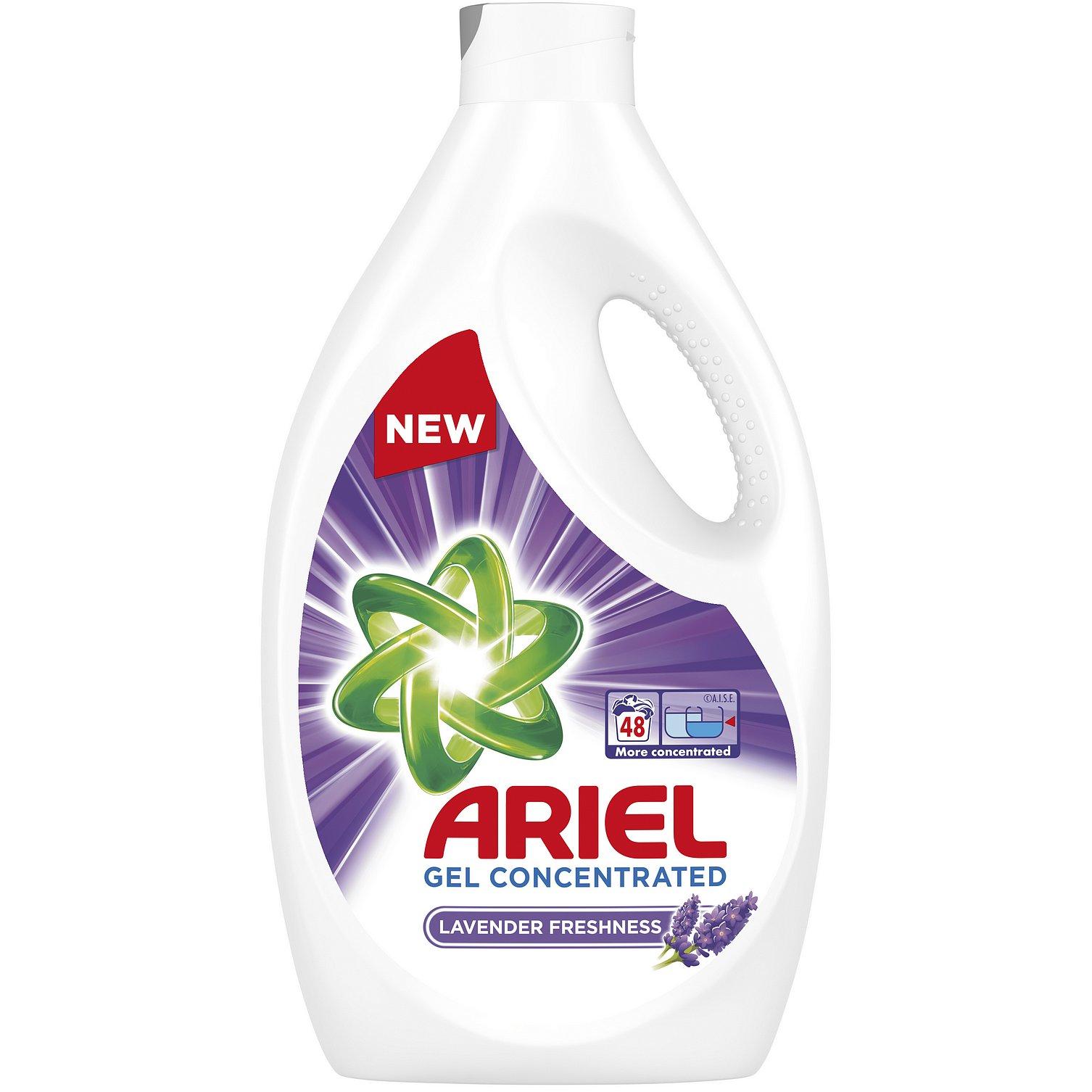 ARIEL Lavender 2,64 L (48 praní) – Prací gel