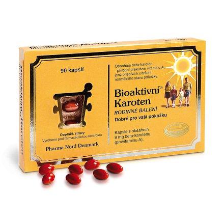 Bioaktivní Karoten rodinné balení orální tobolky 90
