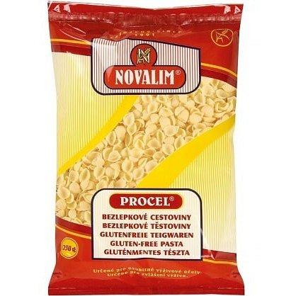Novalim Bezlepkové těstoviny PROCEL mušle 250g
