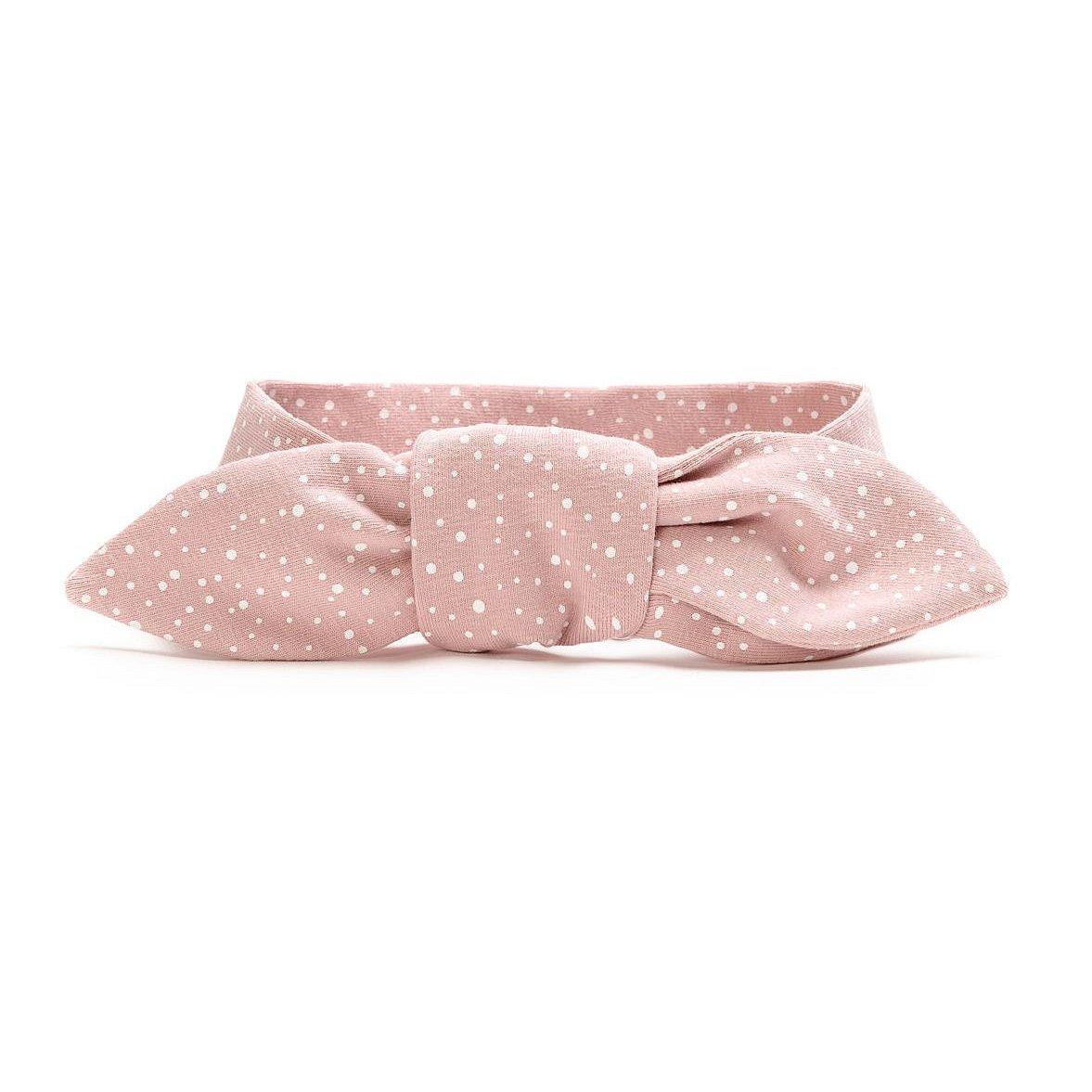 T-tomi Dětská zavazovací čelenka 1 ks pink dots