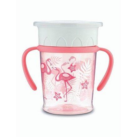 Canpol Babies hrneček 360 Jungle růžová 270 ml
