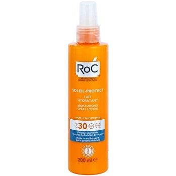 RoC Soleil Protect ochranné hydratační mléko ve spreji SPF 30 200 ml