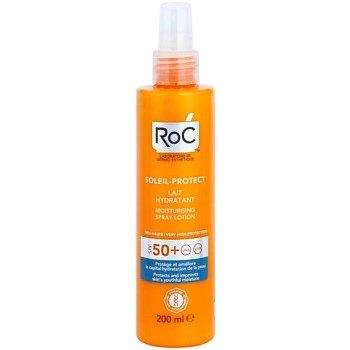 RoC Soleil Protect ochranné hydratační mléko ve spreji SPF 50+ 200 ml