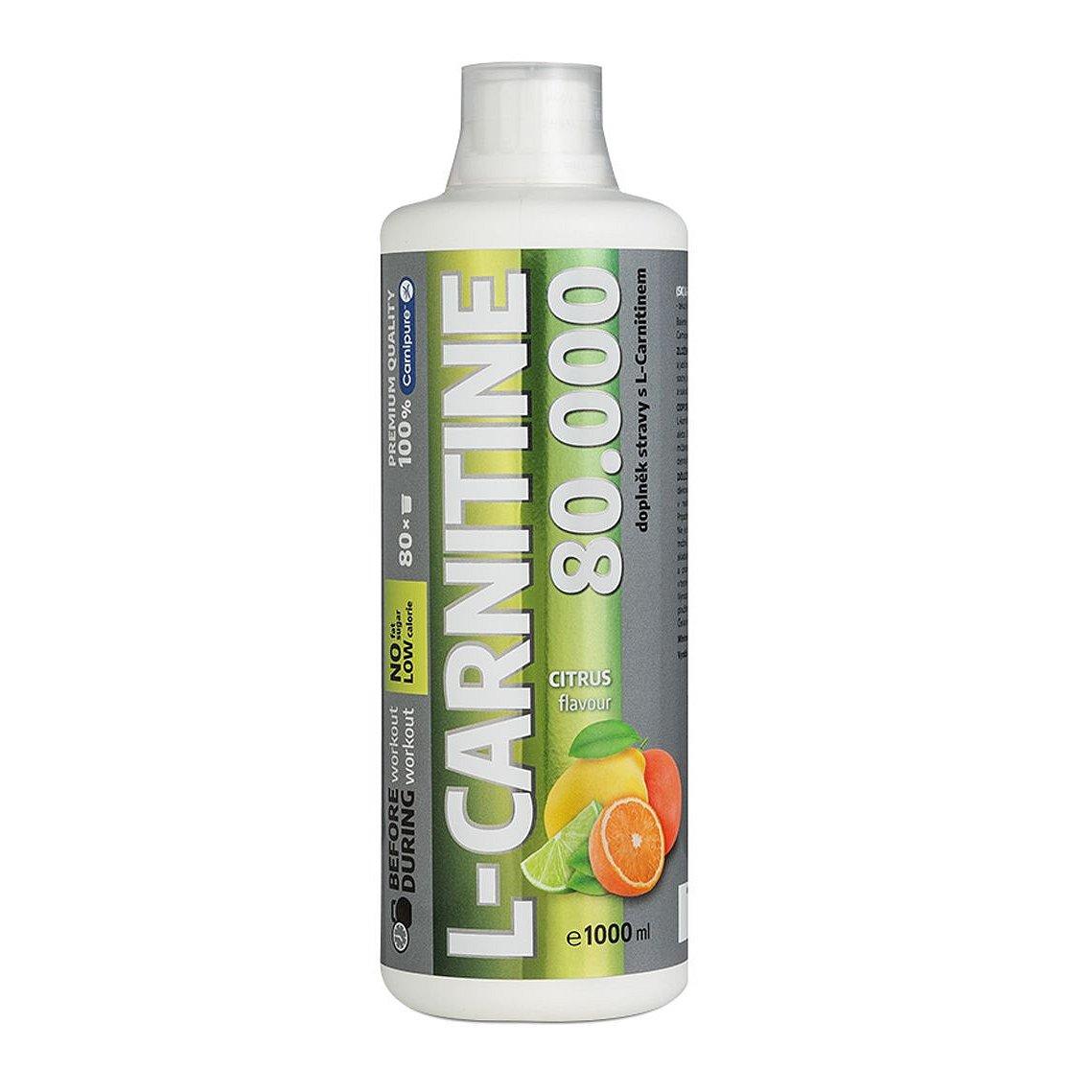 L-CARNITINE 80.000 mg liquid citrus 1000 ml