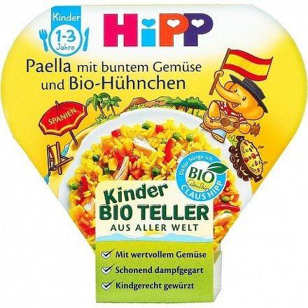 HiPP DĚT.TĚST. BIO Paella se zel. a kuř.m. 250g