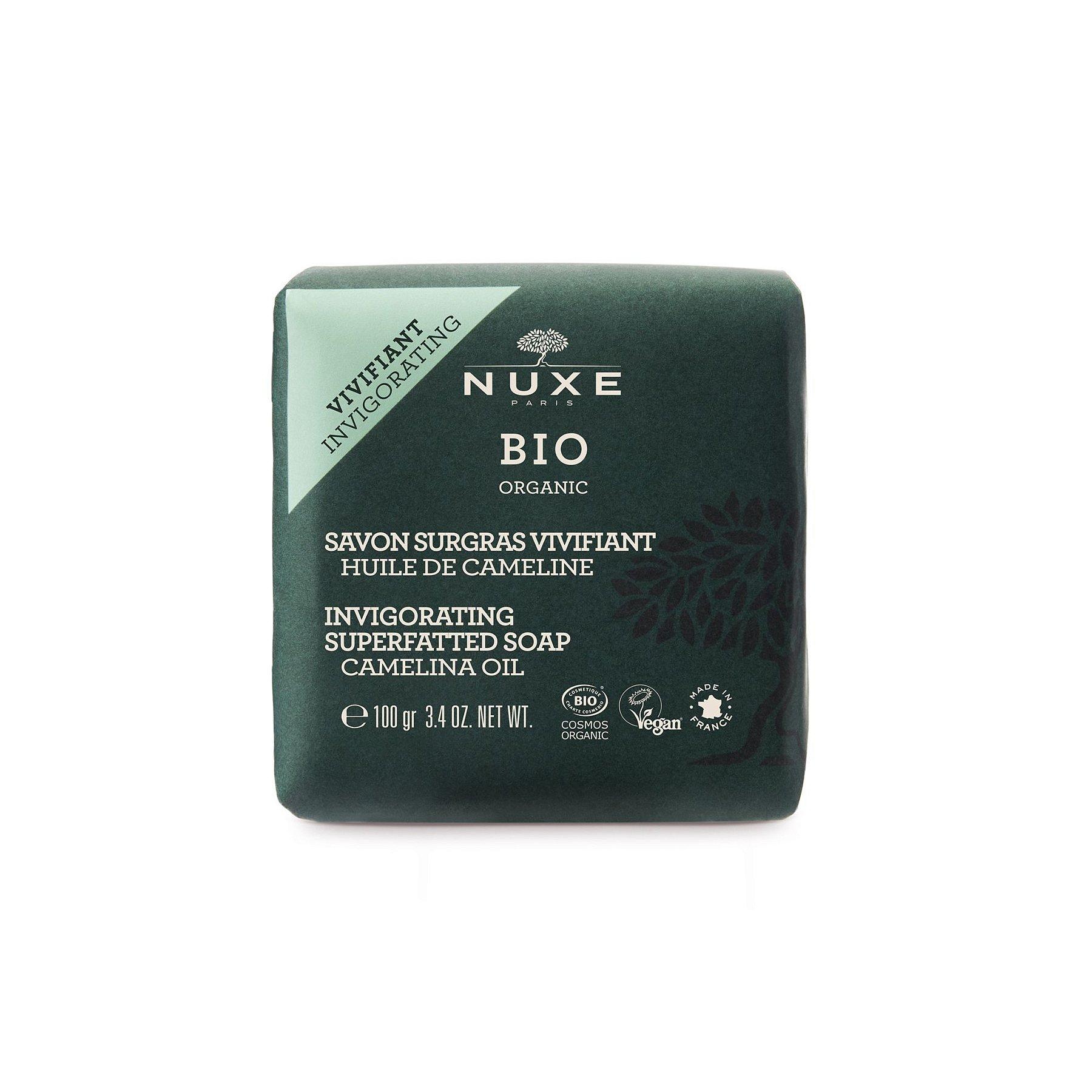 Nuxe BIO Osvěžující a vyživující mýdlo 100 g