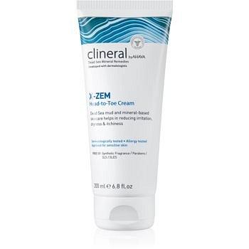 Ahava Clineral X-ZEM intenzivní krém na celé tělo proti podráždění a svědění pokožky