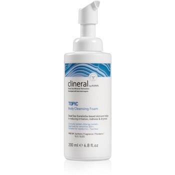 Ahava Clineral TOPIC zklidňující čisticí pěna na tělo 200 ml