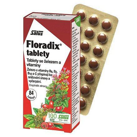 Floradix Železo+ 84 tbl.