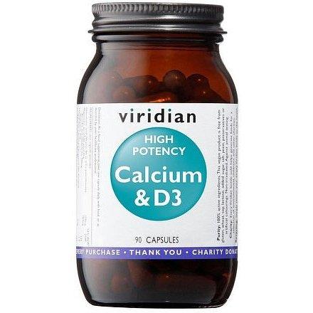 High Potency Calcium & D3 90 kapslí (Vápník s vitamínem D3)