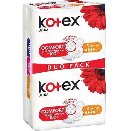 KOTEX Ultra Normal vložky double 16ks