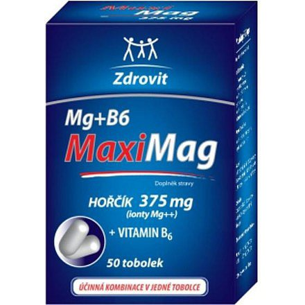 Zdrovit Magnezium+B 6 FORTE tobolky 50