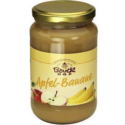 Bio ovocné pyré Jablko+Banán - neslazené 360 g