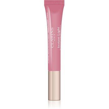 Clarins Lip Make-Up Instant Light lesk na rty s hydratačním účinkem odstín 07 Toffee Pink Shimmer  12 ml