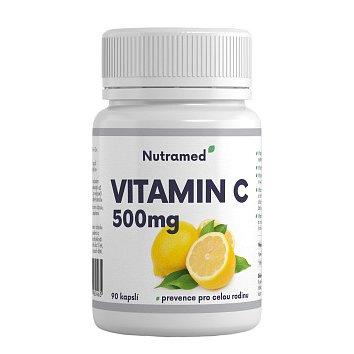 Vitamin C 500mg 90 kapslí