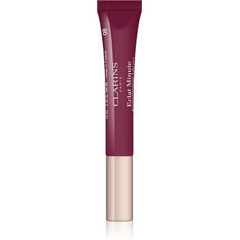 Clarins Lip Make-Up Instant Light lesk na rty s hydratačním účinkem odstín 08 Plum Shimmer  12 ml