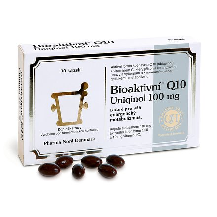 Bioaktivní Q 10 Uniqinol 100 mg orální tobolky 30