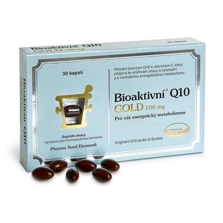Bioaktivní Q 10 Gold 100 mg orální tobolky 30
