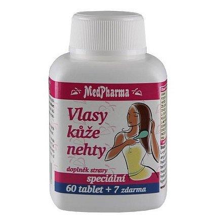 MedPharma Vlasy kůže nehty tablety 67