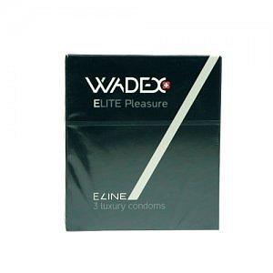 WADEX Elite Pleasure kondomy 3ks
