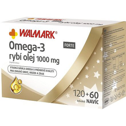 Walmark Omega 3 FORTE tobolky 120+60