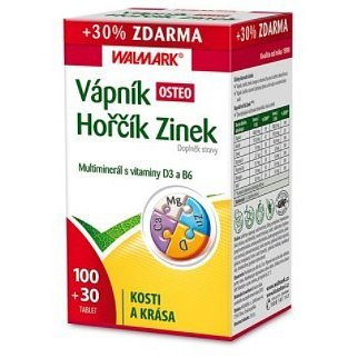 Walmark Vápník-Hořčík-Zinek Osteo tbl.100+30