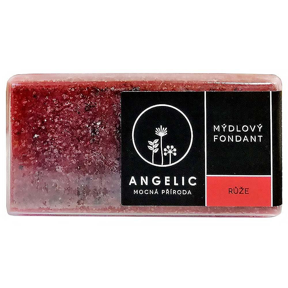 ANGELIC Mýdlový fondant Růže 200 g