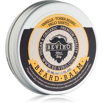 Be-Viro Men's Only Vanilla, Palo Santo, Tonka Boby balzám na vousy 30 ml