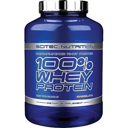 SciTec Nutrition 100% Whey Protein 2350g vanilka
