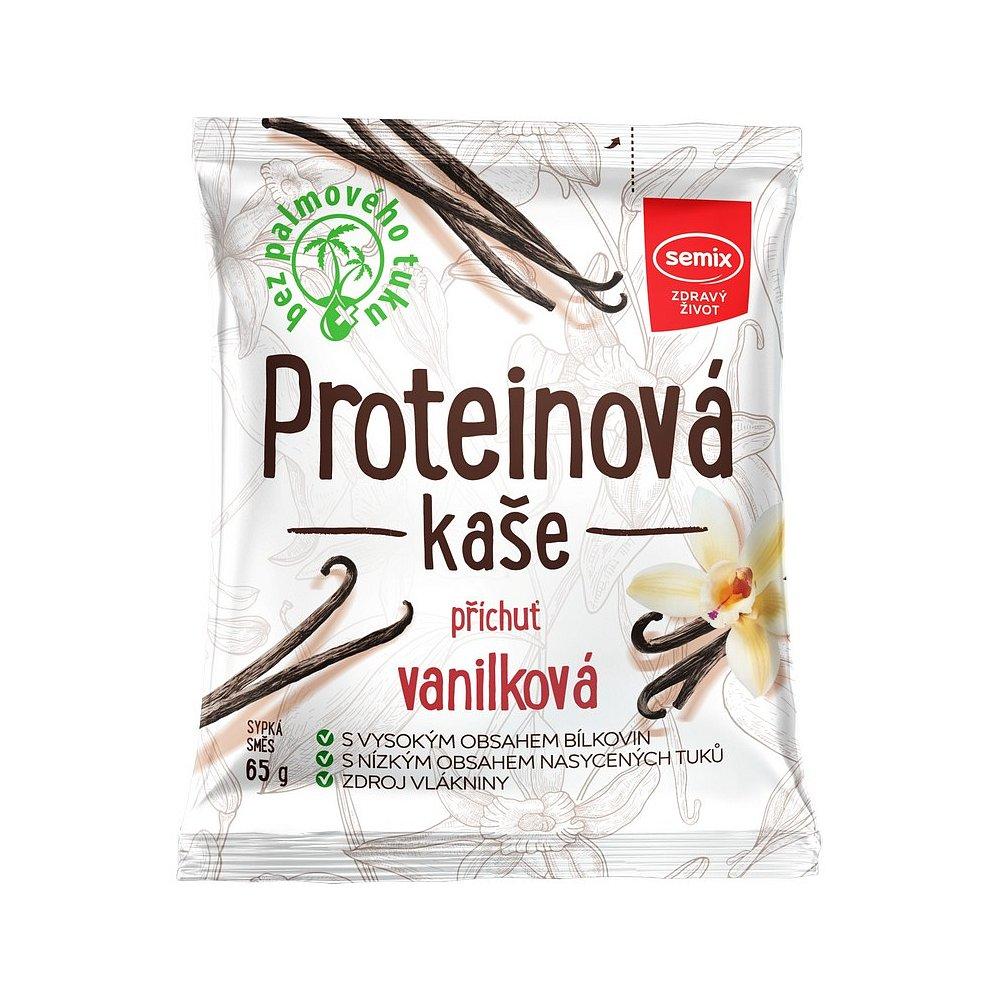 SEMIX Proteinová kaše vanilková 65 g