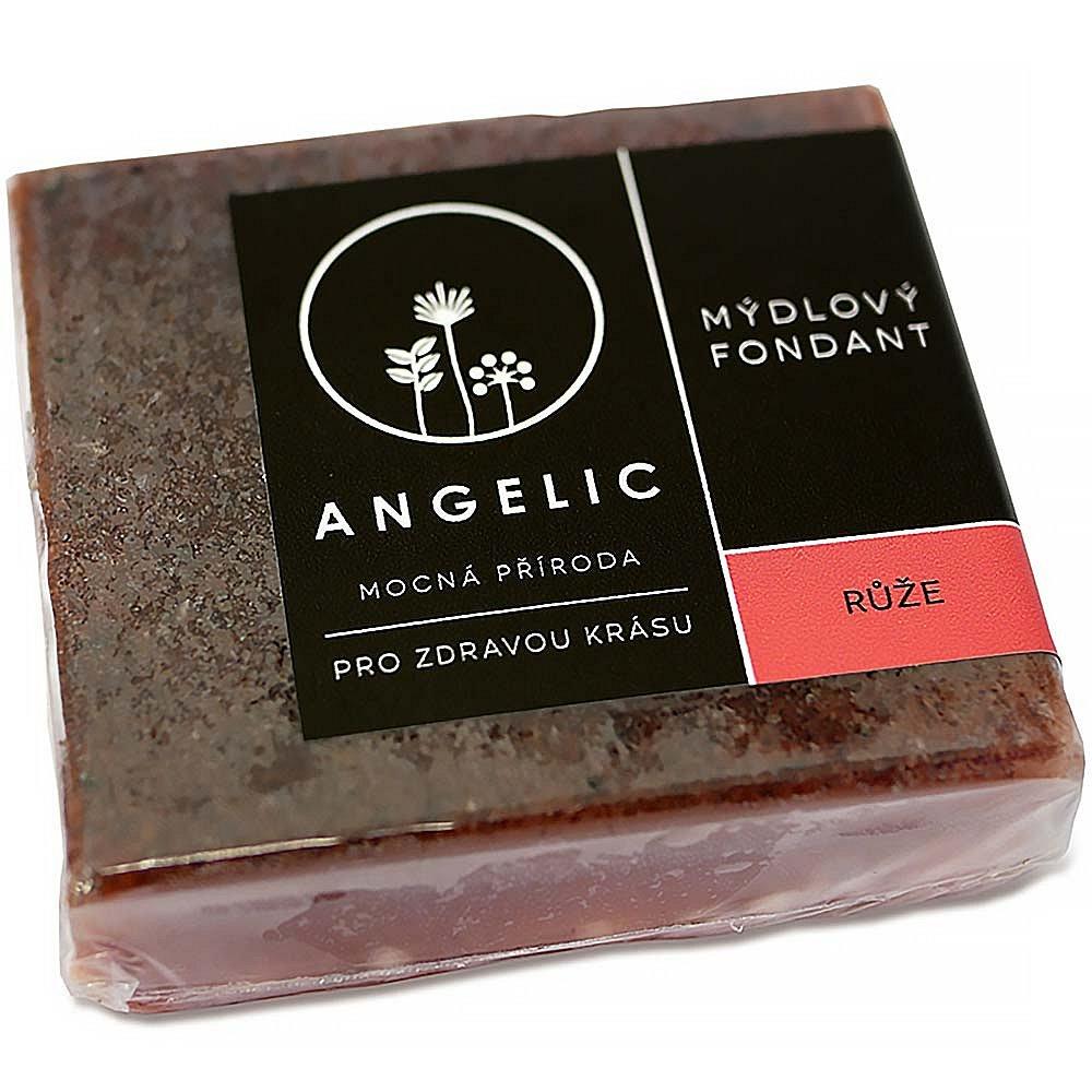 ANGELIC Mýdlový fondant Růže 105 g