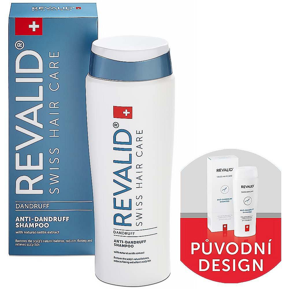 REVALID Šampon proti lupům 250 ml, poškozený obal