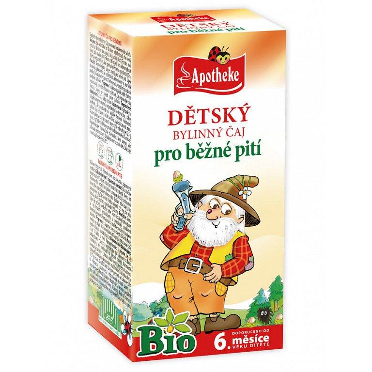Apotheke Dětský čaj BIO bylinný-běžné pití 20x1.5g