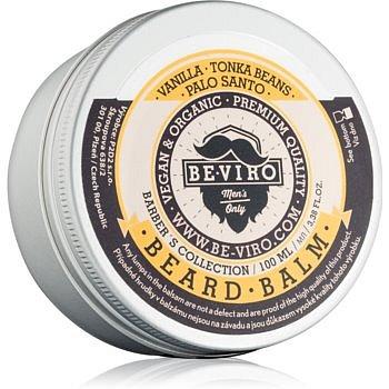 Be-Viro Men's Only Vanilla, Palo Santo, Tonka Boby balzám na vousy  100 ml