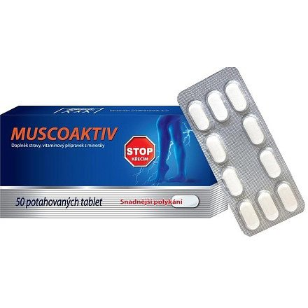 Zdrovit Muscoaktiv tablety 50
