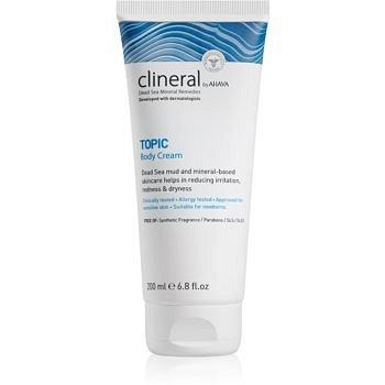 Ahava Clineral TOPIC zklidňující tělový krém pro atopickou pokožku 200 ml