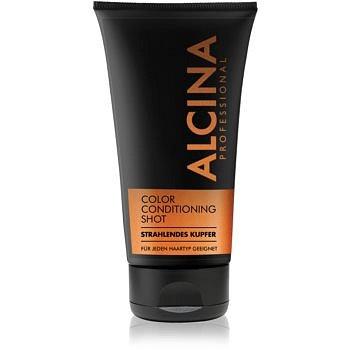 Alcina Color Conditioning Shot Silver tónovací balzám pro zvýraznění barvy vlasů odstín Bright Copper 150 ml