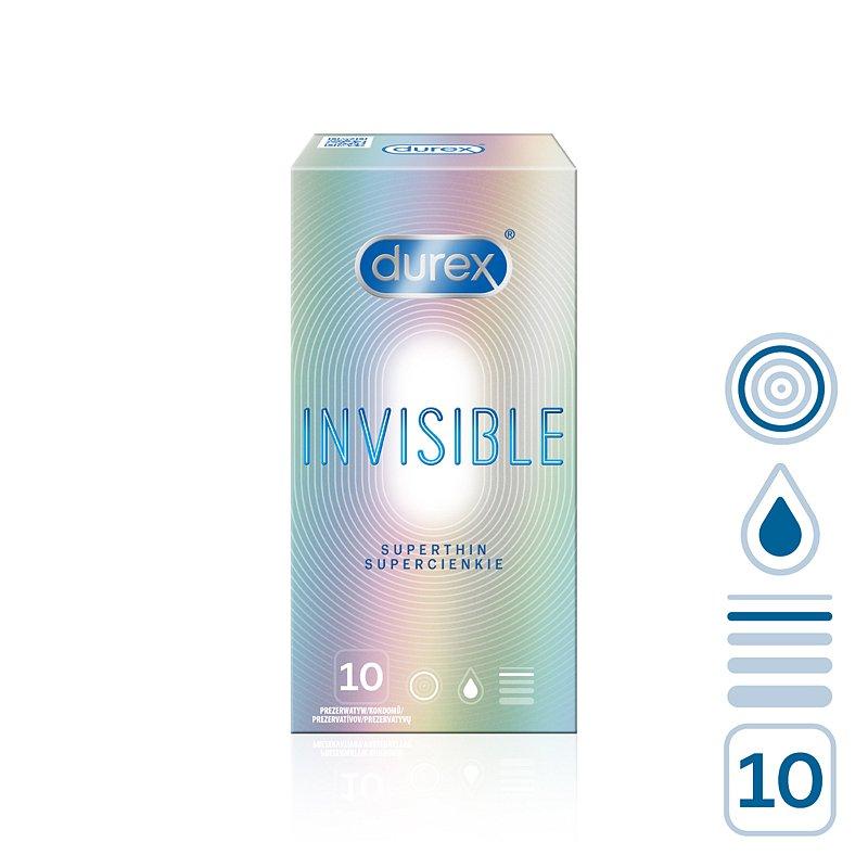 DUREX Invisible 10 ks